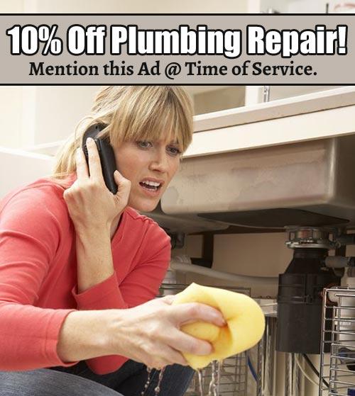 Boulder, CO plumbing special
